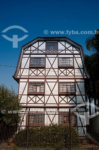 Assunto: Casa em estilo enxaimel - Zona Oeste de São Paulo  / Local: Jaguré - São Paulo - São Paulo (SP) - Brasil / Data: 08/2010