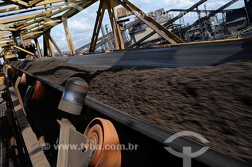 Assunto: Extração de minério de ferro da Companhia Siderúrgica Nacional (CSN) / Local: Volta Redonda - Rio de Janeiro (RJ) - Brasil / Data: 07/2008