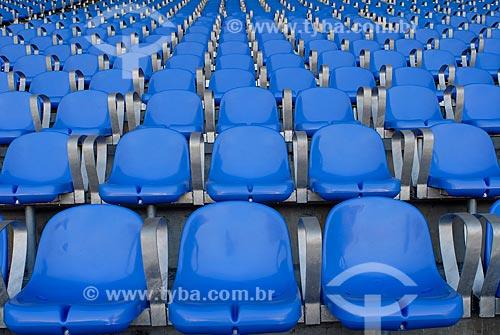 Assunto: Cadeiras azuis no Estádio Jornalista Mário Filho (Maracanã) / Local: Rio de Janeiro (RJ) - Brasil / Data: 07/2006