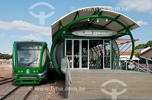 Assunto: Trem que liga Juazeiro do Norte à cidade de Crato - Chamado de metrô  do Cariri / Local: Juazeiro do Norte - Ceará (CE) - Brasil / Data: 08/2010