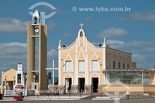 Assunto: Capela de Nossa Senhora do Perpétuo Socorro - Mausoléu do Padre Cícero / Local: Juazeiro do Norte - Ceará (CE) - Brasil / Data: 08/2010