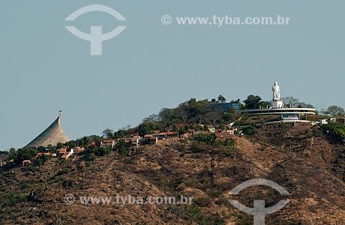 Assunto: Morro do Horto e a estátua do Padre Cícero / Local: Juazeiro do Norte - Ceará (CE) - Brasil / Data: 08/2010