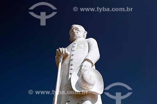 Assunto: Estátua do Padre Cícero / Local: Juazeiro do Norte - Ceará (CE) - Brasil / Data: 08/2010