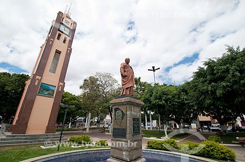 Assunto: Praça Padre Cícero / Local: Juazeiro do Norte - Ceará (CE) - Brasil / Data: 08/2010