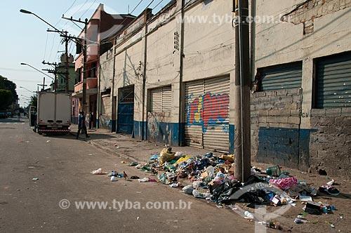 Assunto: Região da Cracolândia -  Estação da Luz / Local: São Paulo (SP) - Brasil / Data: 09/2010