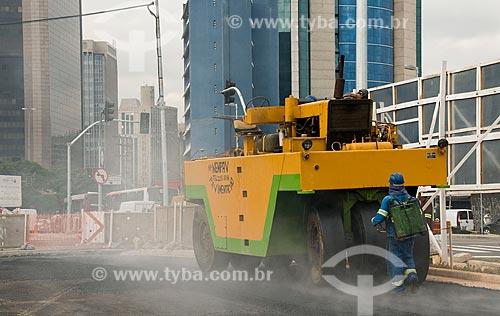 Assunto: Obra de reurbarnização do Largo da Batata após a construção do metrô / Local: Pinheiros - São Paulo (SP) - Brasil / Data: 05/2010