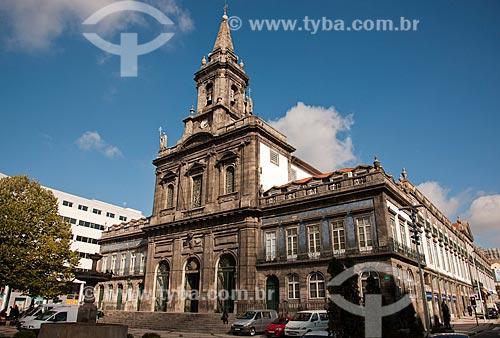 Assunto: Vista da fachada da Igreja da Trindade  / Local: Porto - Portugal - Europa / Data: 10/2010