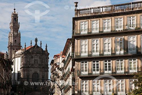 Assunto: Torre e convento dos Clérigos - construída entre 1754 e 1763 / Local: Porto - Portugal - Europa / Data: 10/2010