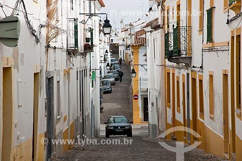 Assunto: Ruas estreitas no centro histórico da cidade de Évora / Local: Évora - Portugal - Europa / Data: 10/2010