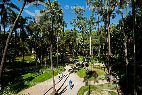 Assunto: Vista do Jardim da Luz - parque público  / Local: Bom Retiro - São Paulo (SP) - Brasil / Data: 02/2011