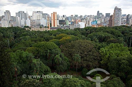 Assunto: Vista aérea do Jardim da Luz - parque público  / Local: Bom Retiro - São Paulo (SP) - Brasil / Data: 02/2011
