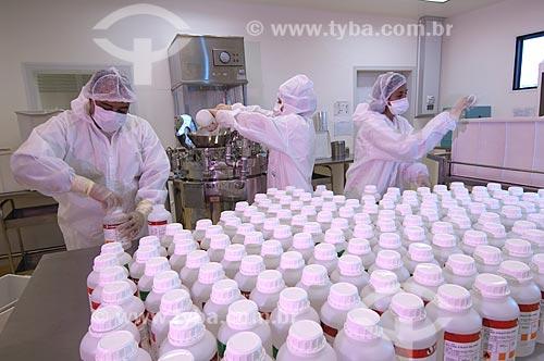 Assunto: Centro de Produção de Antígenos Virais - Fundação Oswaldo Cruz / Local: Manguinhos -  Rio de Janeiro (RJ) - Brasil / Data: 07/2010