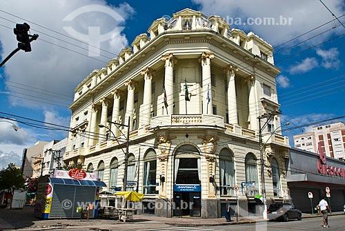 Assunto: Prédio do antigo Banco Pelotense - Atual Banco Banrisul / Local: Pelotas - Rio Grande do Sul (RS) - Brasil / Data: 01/2009