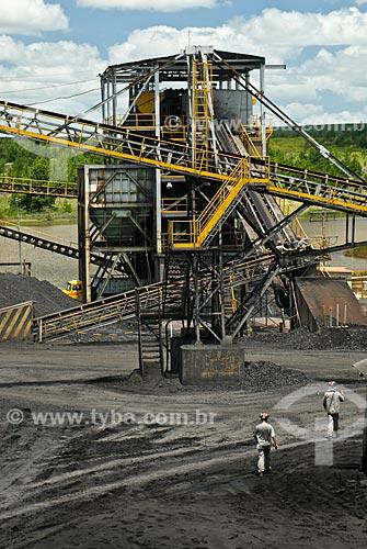 Assunto: Mina de carvão mineral / Local: Arroio dos Ratos - Rio Grande do Sul (RS) - Brasil / Data: 01/2009