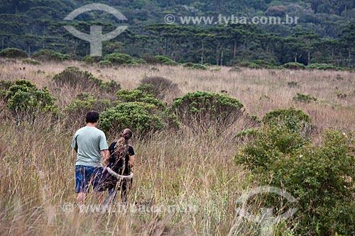 Assunto: Turistas no Parque Nacional de Aparados da Serra / Local: Cambará do Sul - Rio Grande do Sul (RS) - Brasil / Data: 03/2011