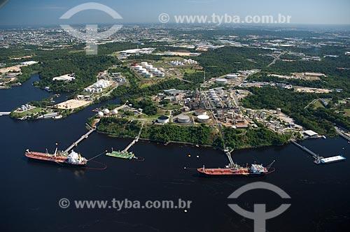 Assunto: Vista aérea da Refinaria Isaac Sabbá também chamada de Refinaria de Manaus - REMAN / Local: Manaus - Amazonas (AM) - Brasil / Data: 06/2007