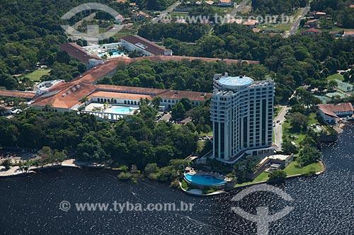 Assunto: Vista aérea do Hotel Tropical e o Hotel Park Suites / Local: Manaus - Amazonas (AM) - Brasil / Data: 06/2007