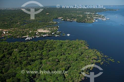 Assunto: Vista aérea do Igarapé Tarumã / Local: Manaus - Amazonas (AM) - Brasil / Data: 06/2007