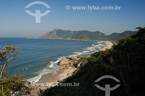 Assunto: Vista das Praias do Abricó e Grumari / Local: Recreio dos Bandeirantes - Rio de Janeiro (RJ) - Brasil / Data: 06/2010