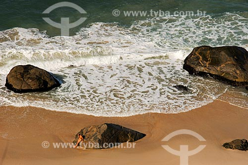 Assunto: Vista da Praia do Abricó / Local: Recreio dos Bandeirantes - Rio de Janeiro (RJ) - Brasil / Data: 06/2010