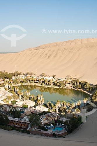 Assunto: Oásis de Huacachina / Local: Ica - Departamento de Ica - Peru - América do Sul / Data: 10/05/2011