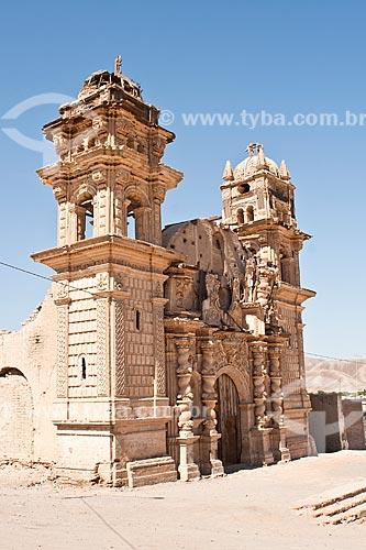 Assunto: Igreja de San José (Iglesia de San José) / Local: Nasca - Departamento de Ica - Peru - América do Sul / Data: 16/05/2011
