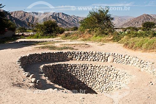 Assunto: Aquedutos construídos pela civilização Nasca / Local: Nasca - Departamento de Ica - Peru - América do Sul / Data: 20/05/2011