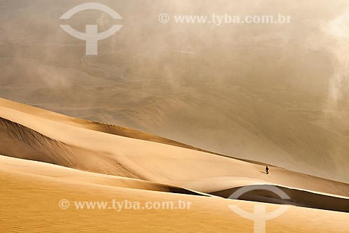 Assunto: Sandboard no Cerro Toro Mata / Local: Acari - Departamento de Arequipa - Peru - América do Sul / Data: 22/05/2011