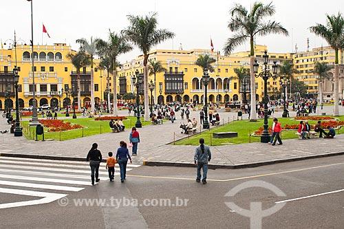 Assunto: Praça Maior de Lima ou Praça de Armas / Local: Lima - Departamento de Lima - Peru - América do SUl / Data: 24/05/2011