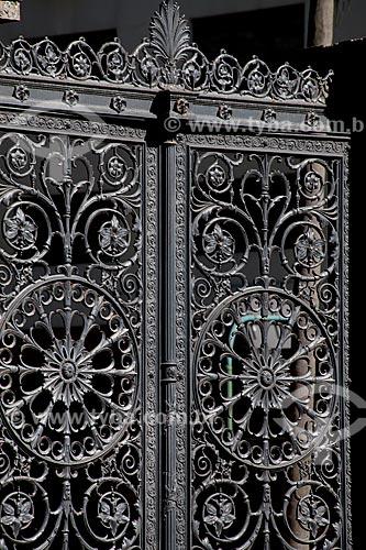 Assunto: Portão do Palácio do Catete (Museu da República) / Local: Catete - Rio de Janeiro (RJ) - Brasil / Data: 02/2011