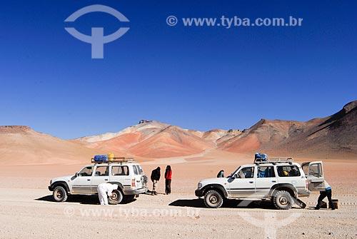 Assunto: Montanha das sete cores - A caminho para o Salar de Uyuni / Local: Bolívia - América do Sul / Data: 01/2011