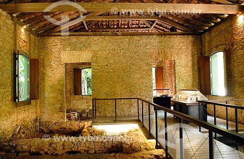 Assunto: Museu-Sítio Arqueológico Casa dos Pilões (antiga Fábrica de Pólvora) / Local: Jardim Botânico - Rio de Janeiro (RJ) - Brasil / Data: 11/2010