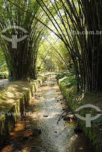 Assunto: Rio dos Macacos  / Local: Jardim Botânico - Rio de Janeiro (RJ) - Brasil / Data: 11/2010