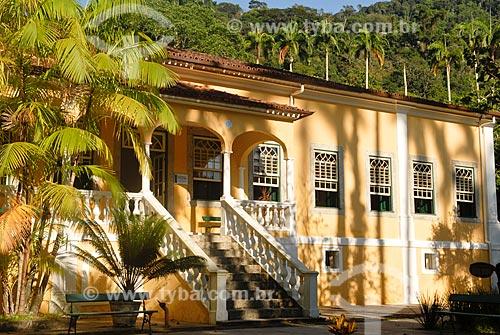 Assunto: Solar da Imperatriz - Atualmente Escola Nacional de Botânica Tropical / Local: Jardim Botânico - Rio de Janeiro (RJ) - Brasil / Data: 11/2010