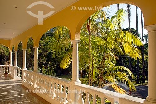 Assunto: Solar da Imperatriz - Aualmente Escola Nacional de Botânica Tropical / Local: Jardim Botânico - Rio de Janeiro (RJ) - Brasil / Data: 11/2010