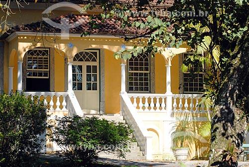 Assunto: Solar da Imperatriz Atualmente Escola Nacional de Botânica Tropical / Local: Jardim Botânico - Rio de Janeiro (RJ) - Brasil / Data: 11/2010