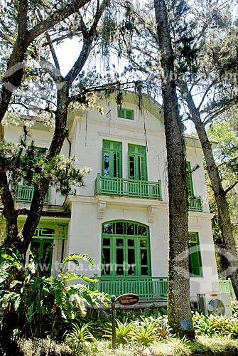 Assunto: Antiga residência Pacheco Leão  / Local: Jardim Botânico - Rio de Janeiro (RJ) - Brasil / Data: 11/2010