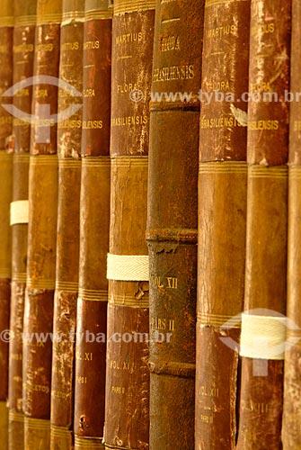 Assunto: Livros raros da biblioteca do Jardim Botânico / Local: Jardim Botânico - Rio de Janeiro (RJ) - Brasil / Data: 11/2010