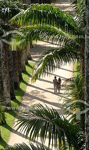 Assunto: Casal passeando no Jardim Botânico / Local: Jardim Botânico - Rio de Janeiro (RJ) - Brasil / Data: 11/2010