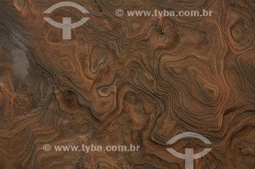 Assunto: Desenhos formados pela areia molhada sob a erosão do vento / Local: Santo Amaro - Maranhão (MA) - Brasil / Data: 07/2011