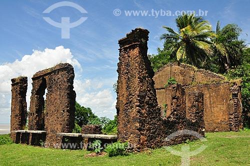 Assunto: Ruínas de antigos casarões coloniais da Rua da Amargura / Local: Alcântara - Maranhão (MA) - Brasil / Data: 07/2011