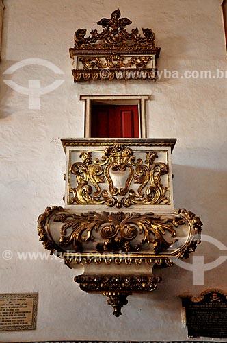 Assunto: Púlpito da Igreja do Carmo / Local: Alcântara - Maranhão (MA) - Brasil / Data: 07/2011