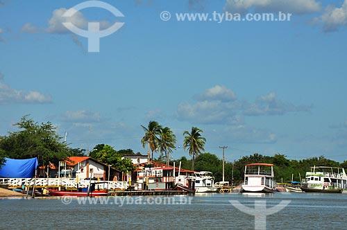 Assunto: Vista do Porto de Tatus / Local: Ilha Grande - Piauí (PI) - Brasil / Data: 07/2011