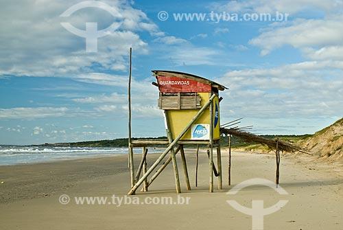 Assunto: Guarita de salva-vidas / Local: La Coronilla - Rocha - Uruguai / Data: 04/2010