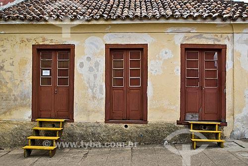 Assunto: Vista da fachada de casa de Garibaldi / Local: Piratini - Rio Grande do Sul (RS) - Brasil / Data: 01/2010