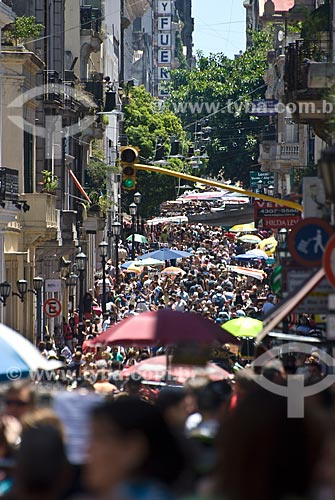 Assunto: Feira de San Telmo / Local: Buenos Aires - Argentina - América do Sul / Data: 01/2011