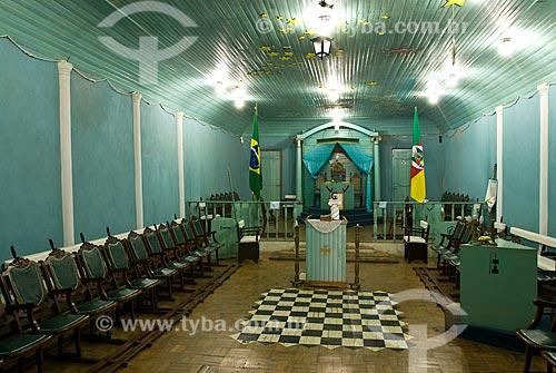 Assunto:  primeira loja maçonica  / Local: Piratini - Rio Grande do Sul (RS) - Brasil / Data: 01/2010