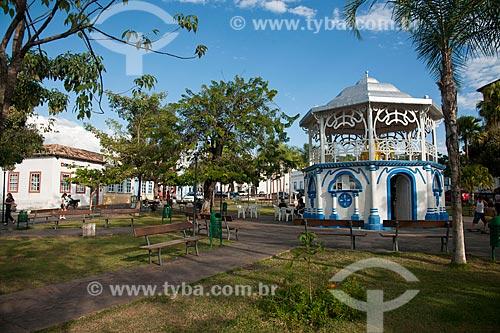 Assunto: Coreto na Praça Castelo Branco / Local: Goiás - Goiás (GO) - Brasil / Data: 07/2011