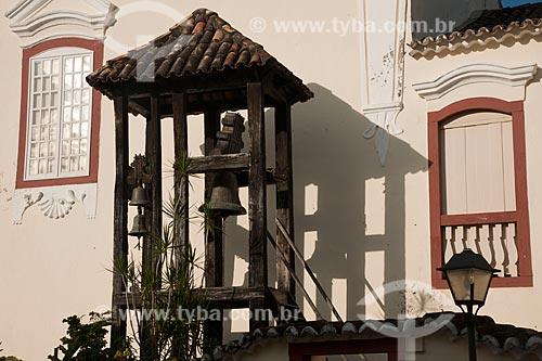 Assunto: Carrilhão da Igreja da Boa Morte / Local: Goiás - Goiás (GO) - Brasil / Data: 07/2011