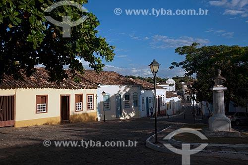 Assunto: Casario colonial na Rua Cândido Penso / Local: Goiás - Goiás (GO) - Brasil / Data: 07/2011